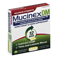 Mucinex DM Max Strength Extended Release Bi-Layer Tablets 7 ea [363824072074]