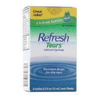 REFRESH TEARS lubricant eye drops 0.5 % 15 ml (2 pack) [300230798303]