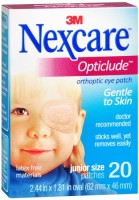 Nexcare Opticlude Orthoptic Eye Patches Junior 20 Each [051131000223]