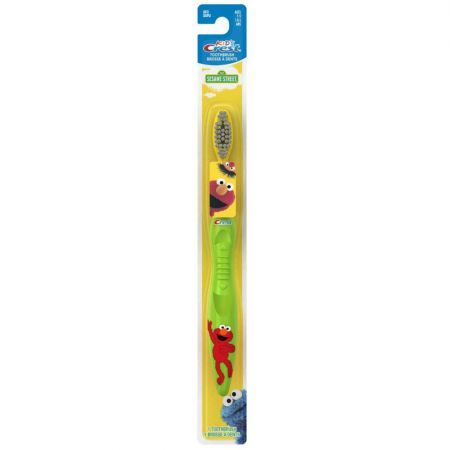 Crest Toothbrush Kid's Soft Sesame Street 1 Each [037000003731]