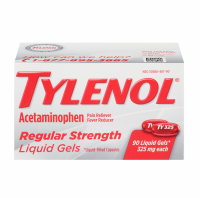 TYLENOL Regular Strength Liquid Gels 90 ea [300450487902]