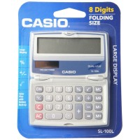 Casio Basic Solar Folding Compact Calculator 1 ea [079767162825]