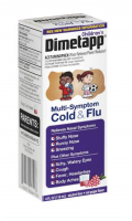 Dimetapp Children's Multi-Symptom Cold & Flu Red Grape Liquid, 4 oz [300312249044]