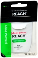 REACH Mint Waxed Floss 100 Yards [381370092292]