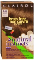 Natural Instincts Brass Free Brunettes - 6.5C Lightest Brown 1 Each [381519038198]