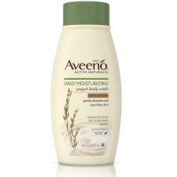 AVEENO Active Naturals Daily Moisturizing Yogurt Body Wash, Vanilla & Oat 18 oz [381371169337]