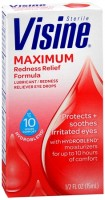 Visine Maximum Redness Relief Eye Drops 0.50 oz [312547493390]