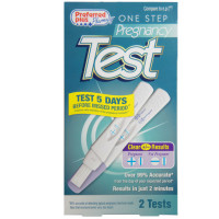 One Step Pregnancy Test Stick 2 ea [751774232417]