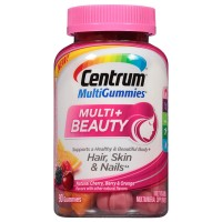 Centrum MultiGummies Multi + Beauty Gummy Multivitamin 90 ea [300054869906]