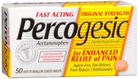 Percogesic Tablets 50 Tablets [Acetaminophen/Diphenhydramine] [375137004932]