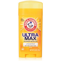 ARM & HAMMER ULTRAMAX Anti-Perspirant Deodorant Solid Unscented 2.60 oz [033200194606]