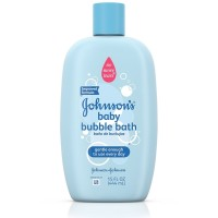 JOHNSON'S Baby Bubble Bath & Wash 15 oz [381371021253]