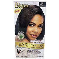 Bigen Easy Permanent Hair Dye with Aloe & Olive Oil, Deep Espresso 3 oz [033859000921]