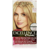 L'Oreal Paris Excellence Créme Permanent Hair Color, Champagne Blonde [8.5A] 1 ea [071249210741]