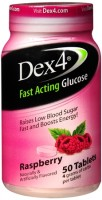 Dex4 Glucose Tablets Raspberry 50 Tablets [383960542637]