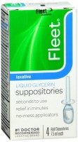 Fleet Liquid Glycerin Suppositories 4 Each [301320185829]