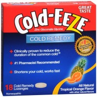 COLD-EEZE Lozenges Natural Tropical Fruit 18 per box [091108100143]