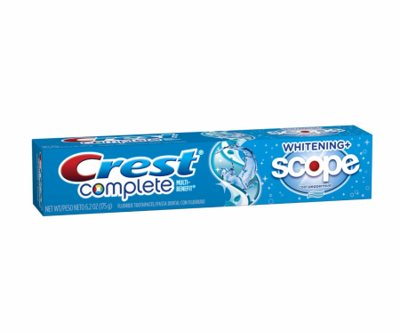 Crest Whitening Plus Scope Toothpaste Cool Peppermint 6.20 oz [037000413516]