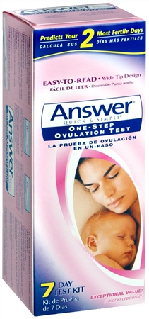 ANSWER One-Step Ovulation Test 7 Each [022600407065]