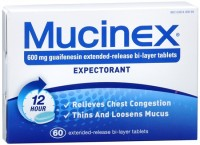 Mucinex Extended-Release Tablets 60 ea [363824008615]