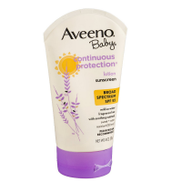 AVEENO Baby Continuous Protection Sunscreen Lotion SPF 55, 4 oz [381370012740]