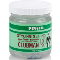 Clubman Pinaud Super Clear Styling Gel Super Hold, 16 oz [070066279269]