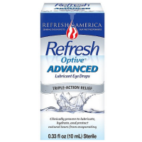 REFRESH Optive Advanced Lubricant Eye Drops 10 ml [300234307105]