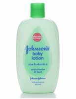 JOHNSON'S Aloe Vera & Vitamin E Baby Lotion 15 oz [381370035572]
