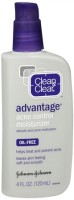 CLEAN & CLEAR ADVANTAGE Acne Control Moisturizer Oil-Free 4 oz [381370023401]