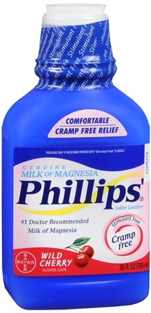 Phillips' Milk of Magnesia Wild Cherry 26 oz [312843393257]