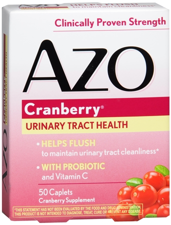 AZO Cranberry Tablets 50 Tablets [787651420677]