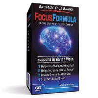 Focus Formula Brain Enhancement Supplement Caplets 60 ea [035046095758]