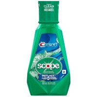 Crest Plus Scope Outlast Mouthwash, Mint 16.90 oz [037000956648]
