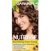 Garnier Nutrisse Nourishing Color Creme Light Natural Brown [60] 1 ea [603084242665]