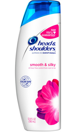 Head & Shoulders Dandruff Shampoo, Smooth & Silky 13.5 oz [037000062073]