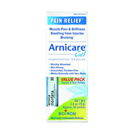 Boiron Arnicare Arnica Gel 2.60 oz Value Pack With Blue Tube [306962747244]