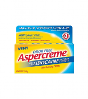 ASPERCREME Maximum Strength Lidocaine Pain Relieving Creme 2.7 oz [041167058206]