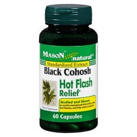 Mason Black Black Cohosh Hot Flash Relief Capsules 60 ea [311845130457]