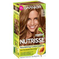Garnier Nutrisse Nourishing Color Creme [63] Light Golden Brown 1 ea [603084242641]