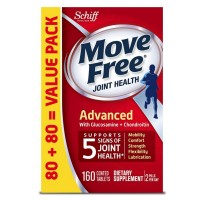 Move Free Advanced, Joint Health Supplement with Glucosamine & Chondroitin 160 ea [020525974068]