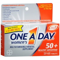 One-A-Day Women's 50+ Advantage Multivitamin/Multimineral Tablets 65 ea [016500550167]