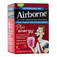 Airborne Plus Energy Packets, Berry 9 ea [647865301233]