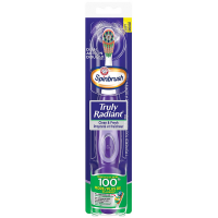 ARM & HAMMER Spinbrush Truly Radiant Clean & Fresh Battery Toothbrush 1 ea [766878001043]