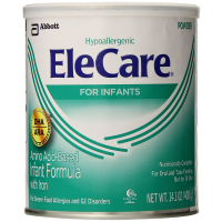 EleCare Amino Acid Based Infant Formula Powder with Iron, Unflavored 14.10 oz [070074535111]
