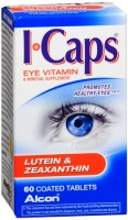 ICAPS Lutein & Zeaxanthin Tablets 60 Tablets [731928040082]