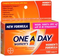 One-A-Day Women's Tablets 100 Tablets [016500074106]