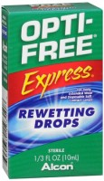 OPTI-FREE EXPRESS Rewetting Drops 10 mL [300650193108]