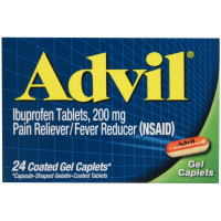 Advil Gel Caplets 24 ea [305730165204]