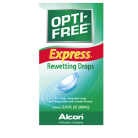 OPTI-FREE EXPRESS Rewetting Drops 20 mL [300650193207]