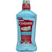 Colgate Total Gum Health Mouthwash, Clean Mint 33.8 oz [035000671547]
